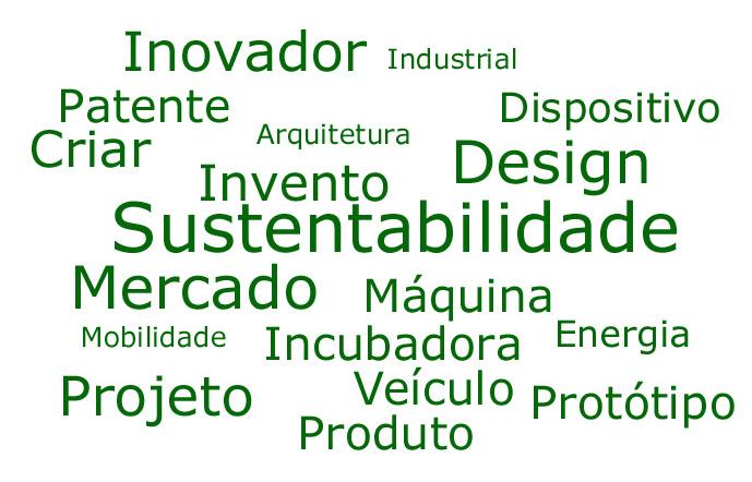 Palavras chave da idéia: Sustentabilidade, Invento, Patente, Design, mercado...