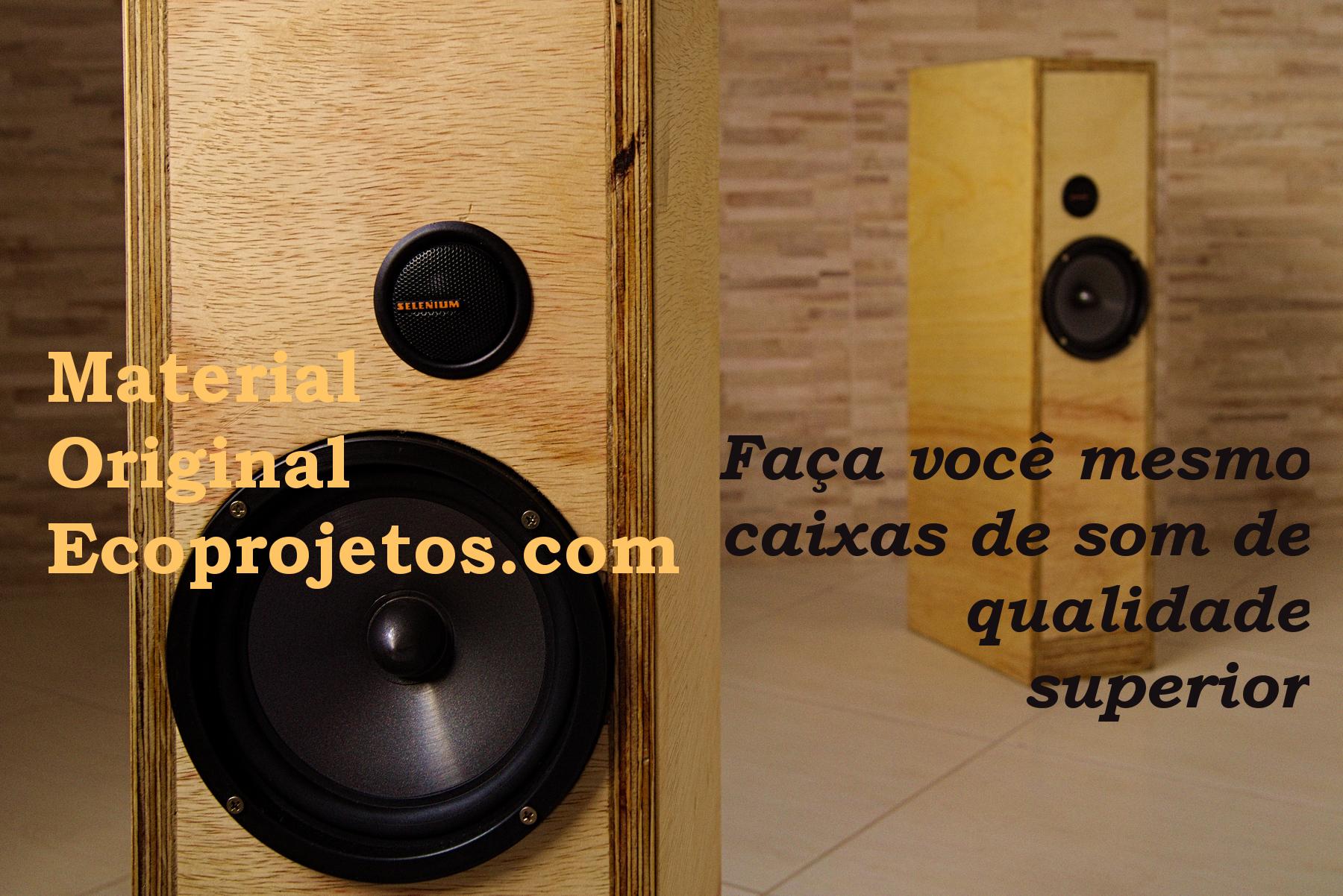 capa da apostila aprenda como fazer caixas de som