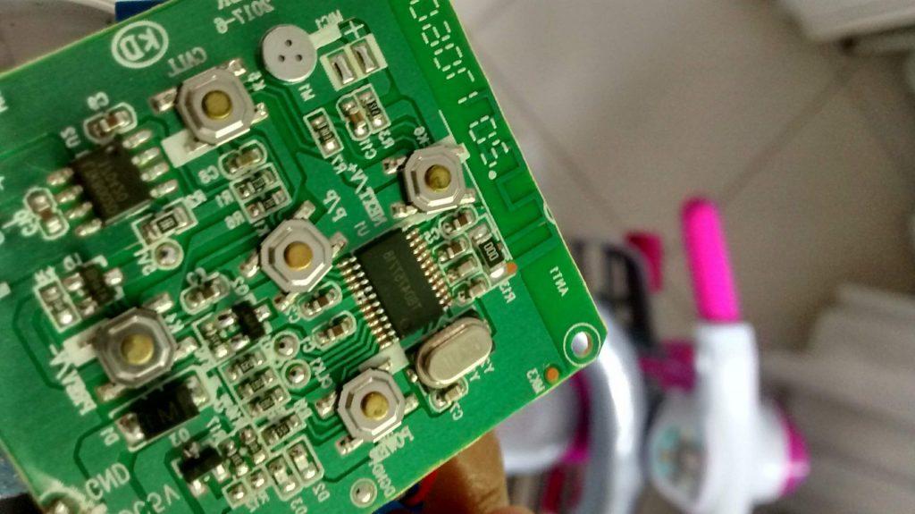 Placa de circuito impresso smd