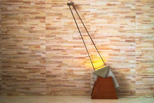 Luminaria de cimento Ademir Ferreira UEMG